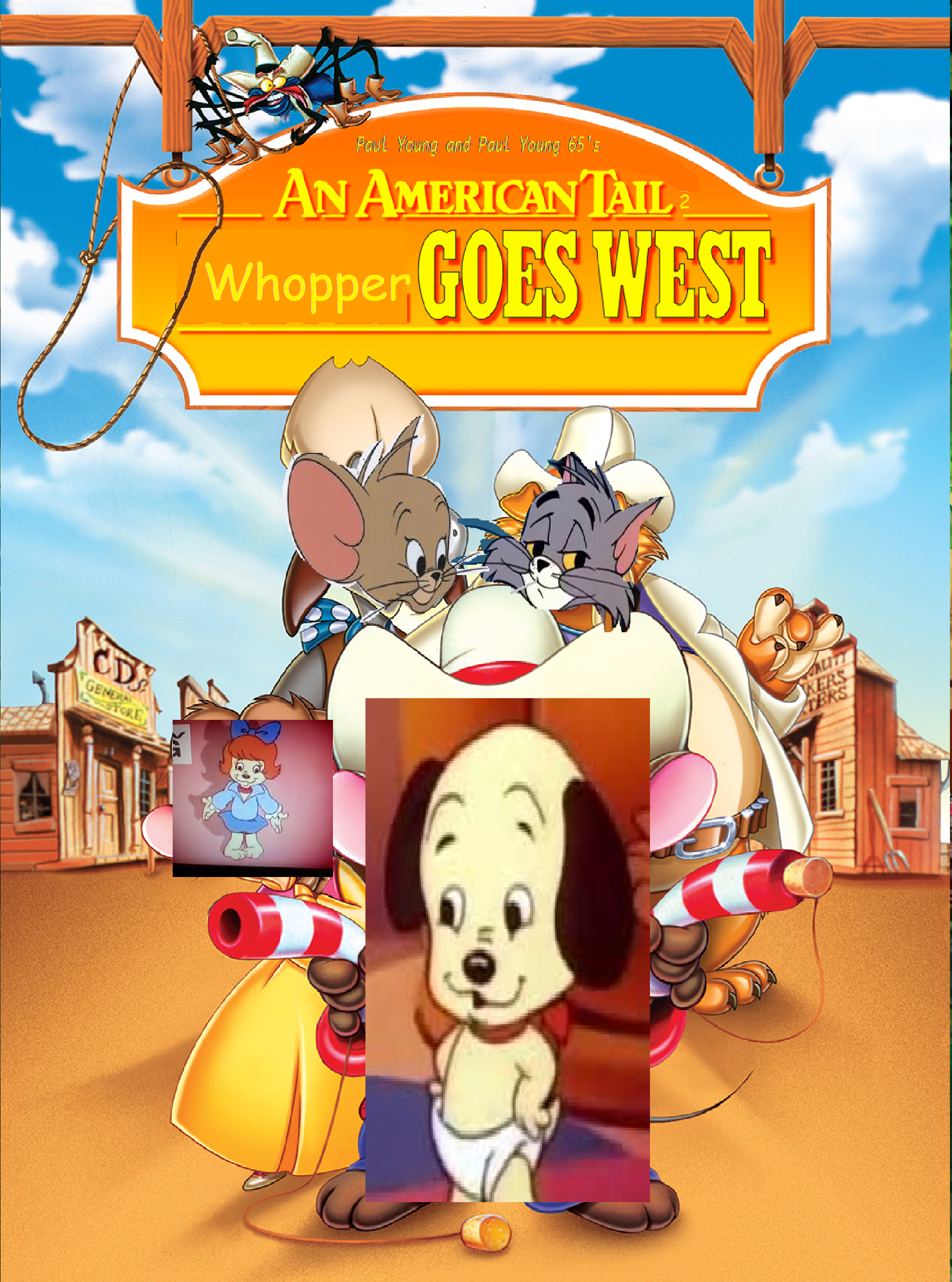 An American Tail 2: Whopper Goes West (Paul Young and Paul Young 65's Style)