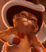 Puss in Boots in Shrek the Halls