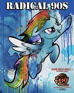 Radical 90s Rainbow Dash MLPTM Poster
