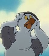 Scuttle in The Little Mermaid 2 Return to the Sea