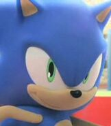Sonic the Hedgehog in Mario and Sonic at the Olympic Games