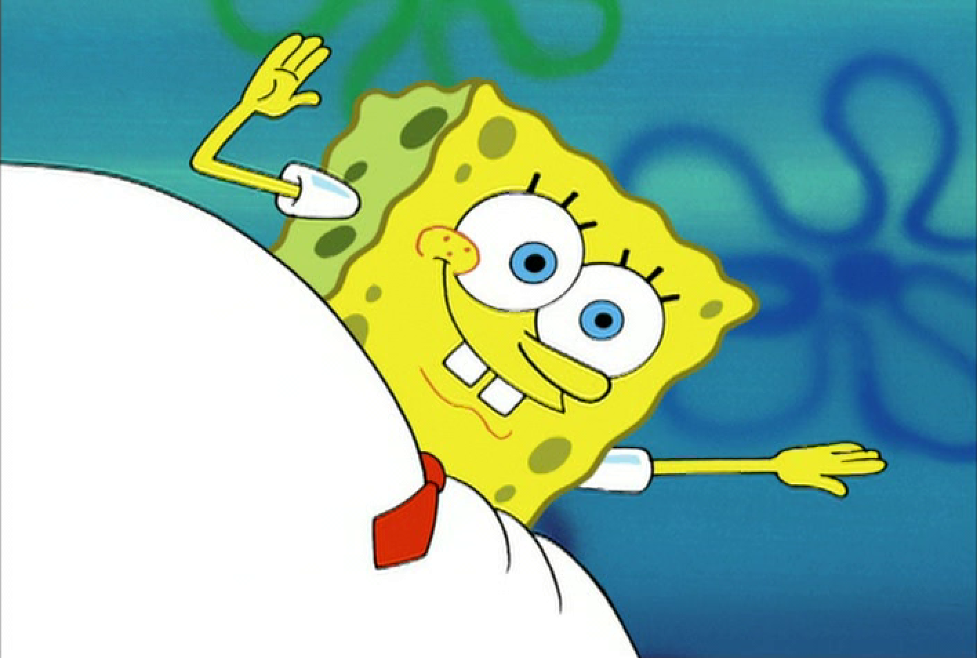 Spongebob Squarepants (a.k.a. Frosty the Snowman)