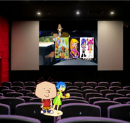 Stanley and Joy sees the Wallykazam, Sabrina, Ami and Yumi' Movie
