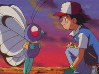 Ash Releases Butterfree
