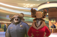 Chief Bogo and Magda