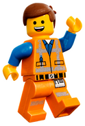 Emmet waves lego movie 2