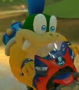 Larry Koopa in Mario Kart 8