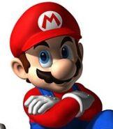 Mario in Mario Kart DS