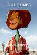 Simba (Rango) Poster