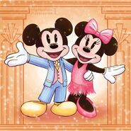1920s Mickey and Minnie Mouse