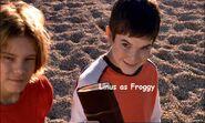 3) Linus (Sharkboy & Lavagirl) as Froggy