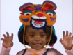 Akiala Roars While Wearing The Year Of The Tiger Hat