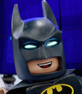 Batman in Sky Commercial