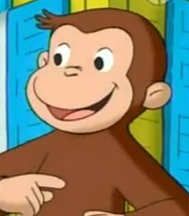 Curious George Monkey Genius