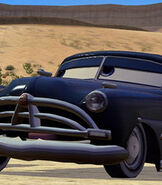 Doc Hudson in Cars (Video Game)