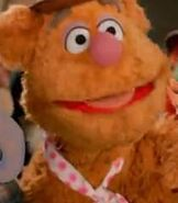 Fozzie Bear in Lady Gaga & The Muppets' Holiday Spectacular