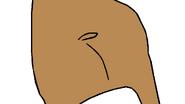 Francine Frensky as the Hippopotamus' Butt 🍑 Shake