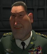 General W.R. Monger in Monsters vs Aliens