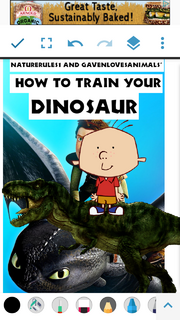 How to Train Your Dinosaur (NR1GLA Style) Poster.png