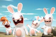Raving-Rabbids-Invasion-Nickelodeon-Ubisoft-Nicktoons-Nicktoon-Animation-Characters-Cast-Group Press-Nick