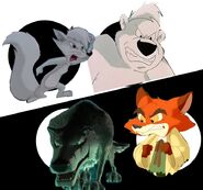Slyly and Leonard Vs. Smiley and Br'er Fox
