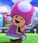 Toadette in Mario Tennis- Ultra Smash