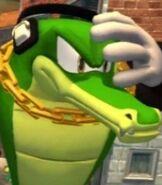 Vector the Crocodile in Sonic Generations