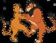Xiro and kairel dance by lionheartcaptain-d7g2t1z