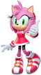 Amy rose mario and sonic 2016