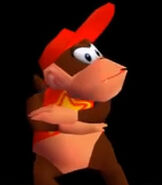 Diddy Kong in Donkey Kong 64