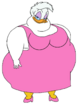 Fat Daisy Duck