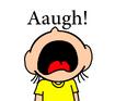 Maggy yelling aaugh by mega shonen one 64 d9nob4d-pre