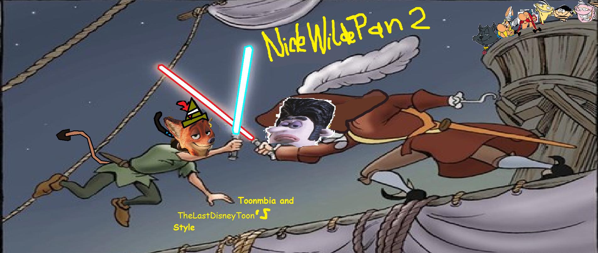 Nick Wilde Pan 2 (TheLastDisneyToon and Toonmbia Style)