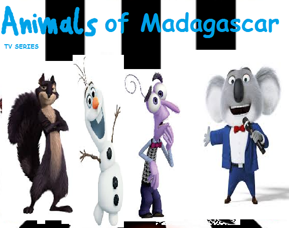 Animals of Madagascar (TV Series) (TheLastDisneyToon and Toonmbia Style)