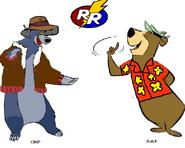 Baloo and yogi