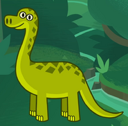 Dinosaur in turn and learn