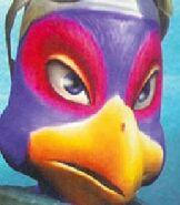 Falco in Star Fox Adventures