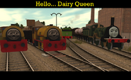 Hello... Dairy Queen.