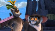 King julien and maurie