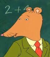 Mr Ratburn in Arthur TV Series
