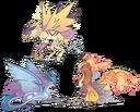 Pokémon Legendary Gryphons