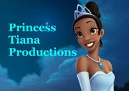 Princess Tiana Productions Logo