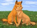 Simba and Nala as Wolves (V2)
