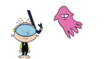 Stanley Griff Meets Flapjack Octopus