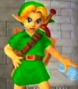 Young Link in Super Smash Bros. Melee
