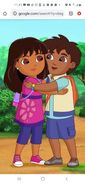 Adult Dora and Adult Diego
