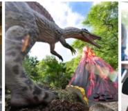 Cleveland Zoo Spinosaurus