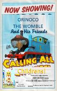 Orinoco & Friends Calling All Childrens! Poster