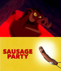 Pumbaa Hates Sausage Party (2016)