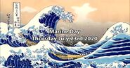 2020 I'm excited for Marine Day